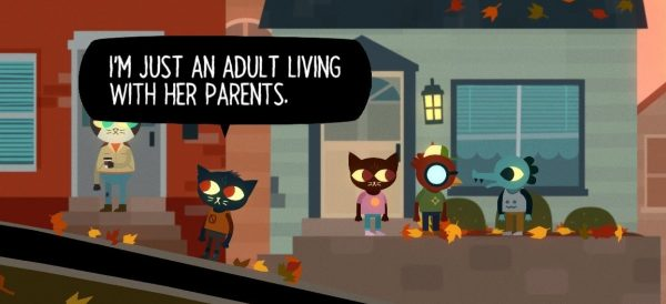 [[[These screenshots are from Night in the Woods which you should play immediately.]]]